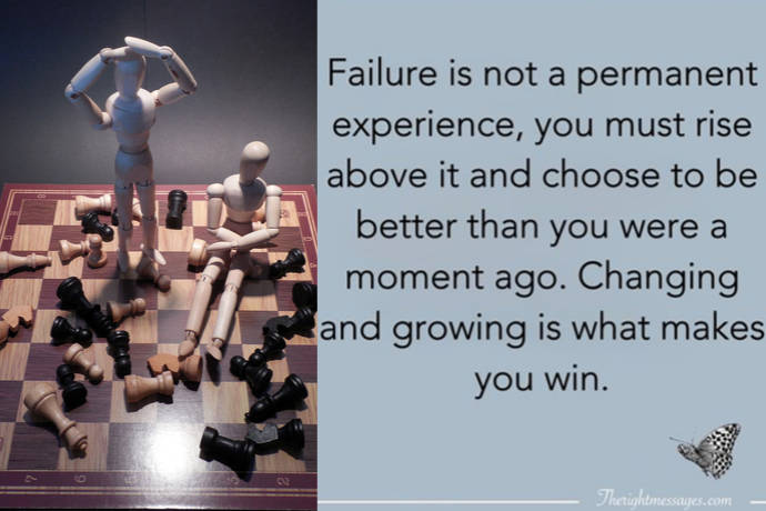 Failure is a step away from Success