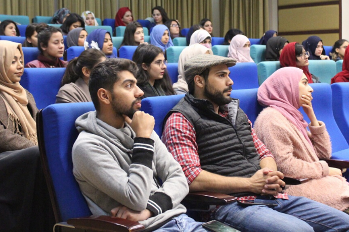 Stress Management Workshop at COMSATS, Islamabad