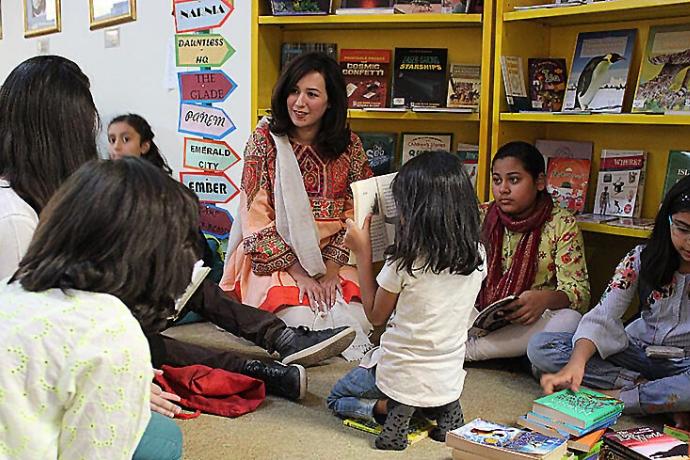 "Mehreena Aziz Khan ""The Library Project"""