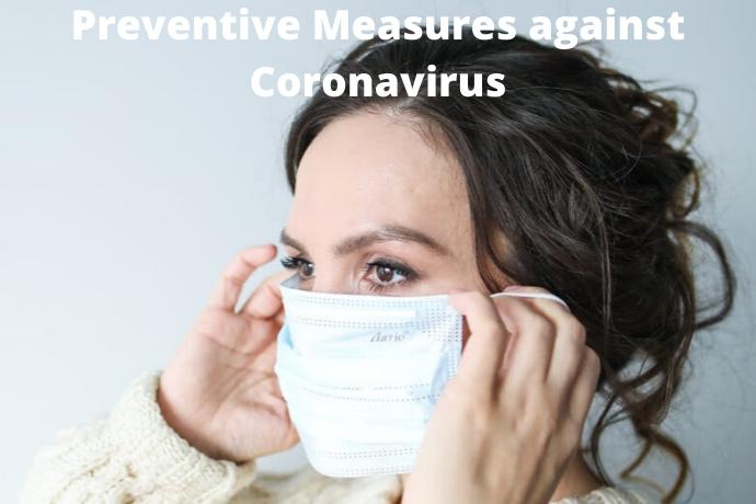 Preventive Measures against Coronavirus – COVID-19