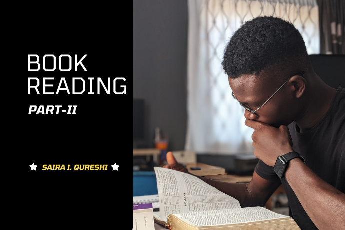 Why book reading is vital for students (Part-2 of 3)