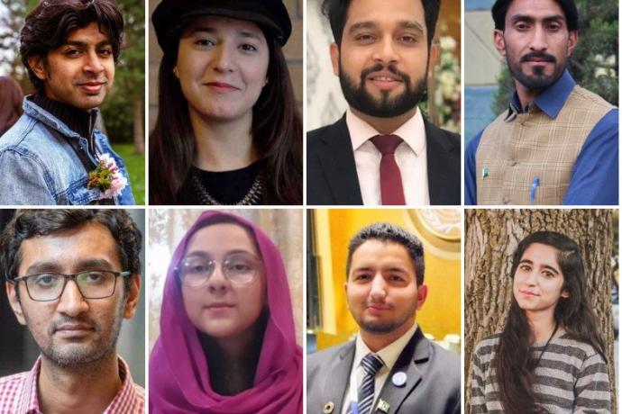 Eight Pakistanis who won the prestigious Diana award